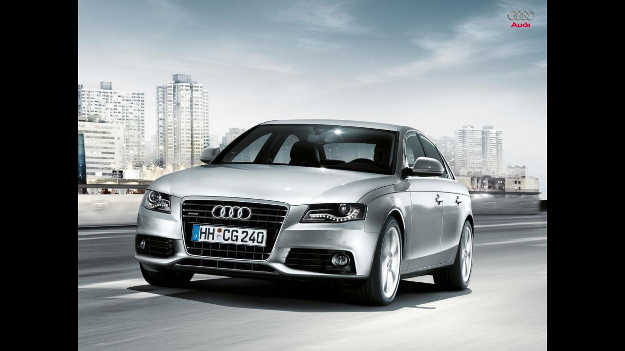 La nuova A4 da Audi Web