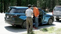 Subaru Exiga Spied Up Close in California