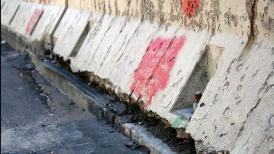 Guardrail e barriere New Jersey, sono sicure? Incalza la polemica