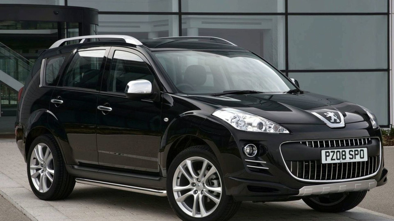 Peugeot 4007 with Irmscher Sports Pack