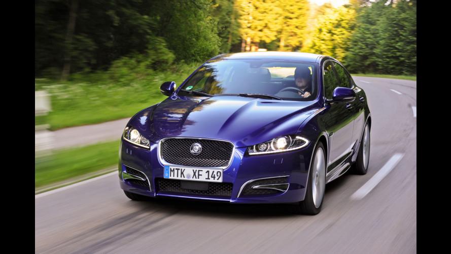 Jaguar XF 2.2 D MY 2012, facile e sincera