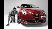 Alfa Romeo MiTo Sprint in posa con gli atleti