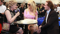 Pam Anderson visits Gemballa at Top Marques in Monaco 24.04.2012