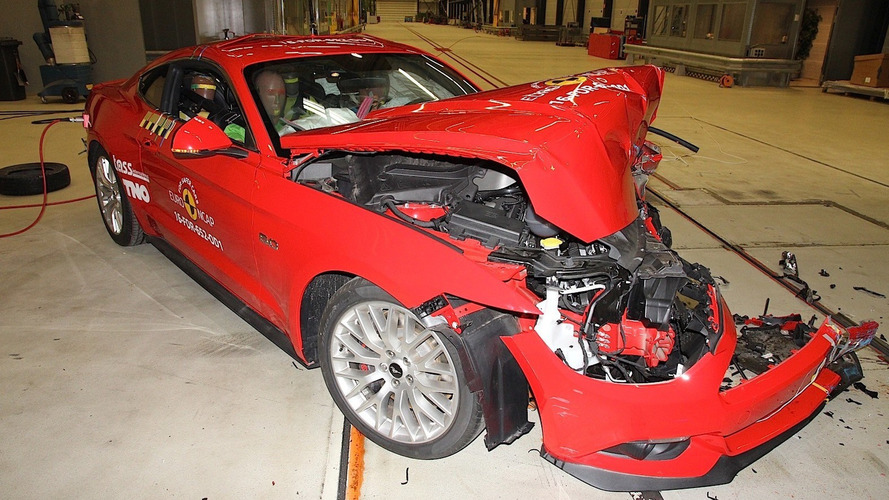 Ford Mustang'a Euro NCAP şoku!