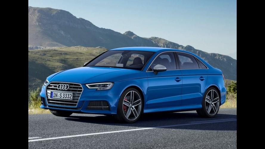 Aguardado no Brasil, Audi A3 reestilizado chega aos EUA e perde motor 1.8 TFSI