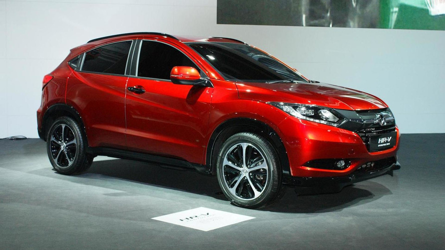 2015 Honda HR-V and CR-V prototypes introduced in Paris