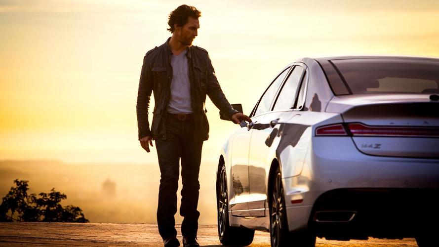 Matthew McConaughey returns to promote 2015 Lincoln MKZ and MKZ Hybrid [videos]