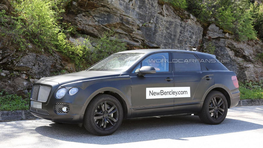 Bentley crossover aiming to be the fastest ever made