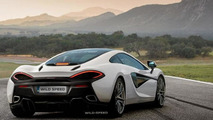 McLaren 570S render