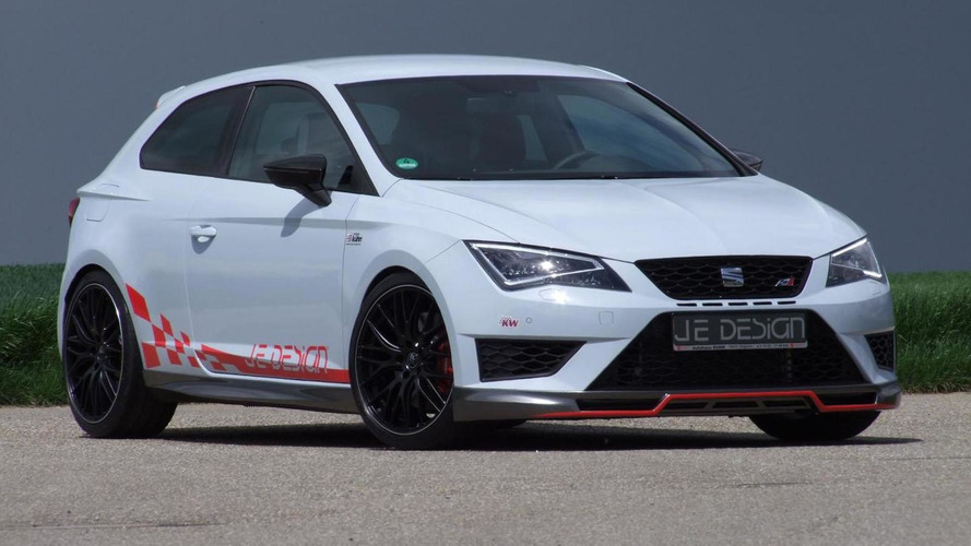 JE Design tunes the Seat Leon Cupra to 350 PS