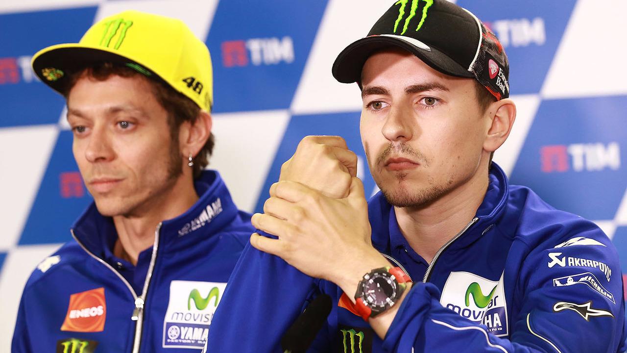 Valentino Rossi, Yamaha Factory Racing, Jorge Lorenzo, Yamaha Factory Racing