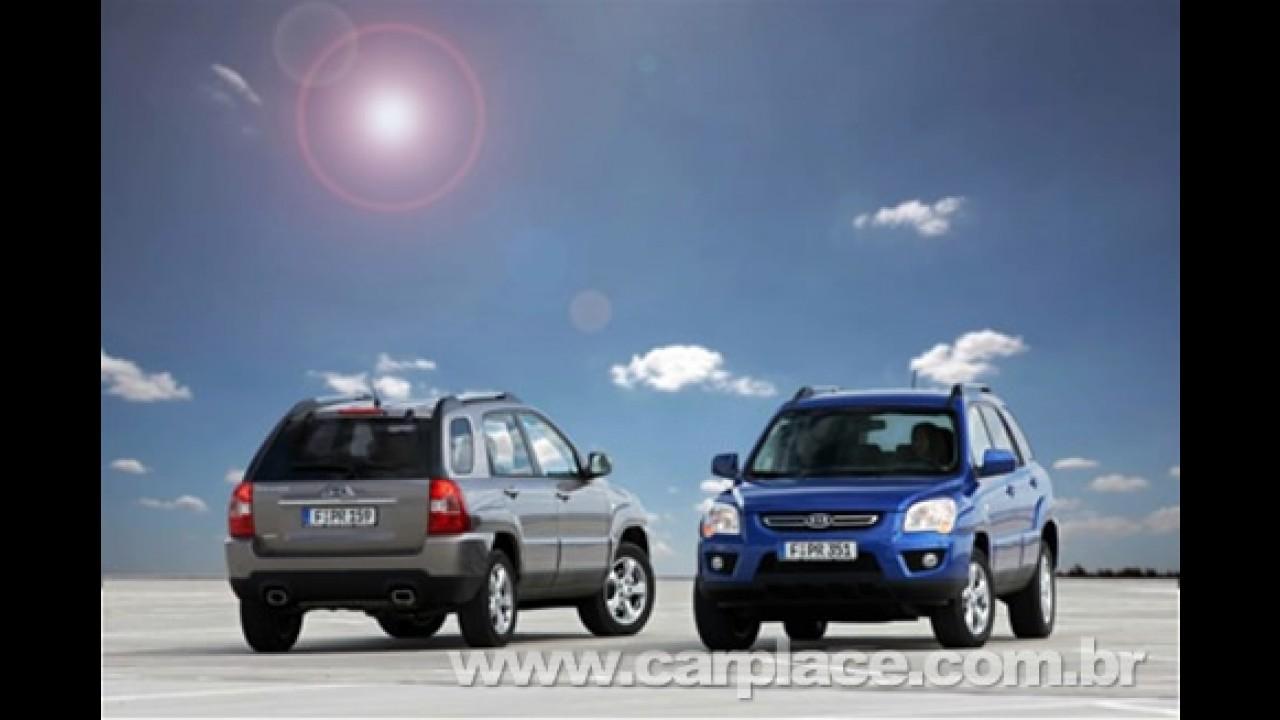 Na Europa: Kia Sportage 2009 recebe mudanças no visual e novo motor diesel