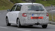 Skoda Fabia Combi facelift spy photo