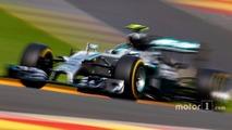 Nico Rosberg remporte le Grand Prix de Belgique