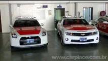 Nissan GT-R e Camaro viram viatura policial em Abu Dhabi – Frota tem outros esportivos