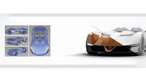 Chevy Monza SS Rendering