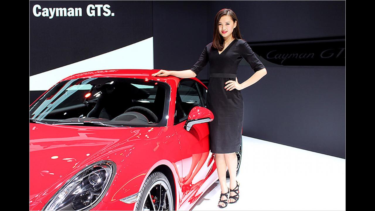Wer hat hier grad gesagt, dass der Cayman ein Frauenauto wäre?!?