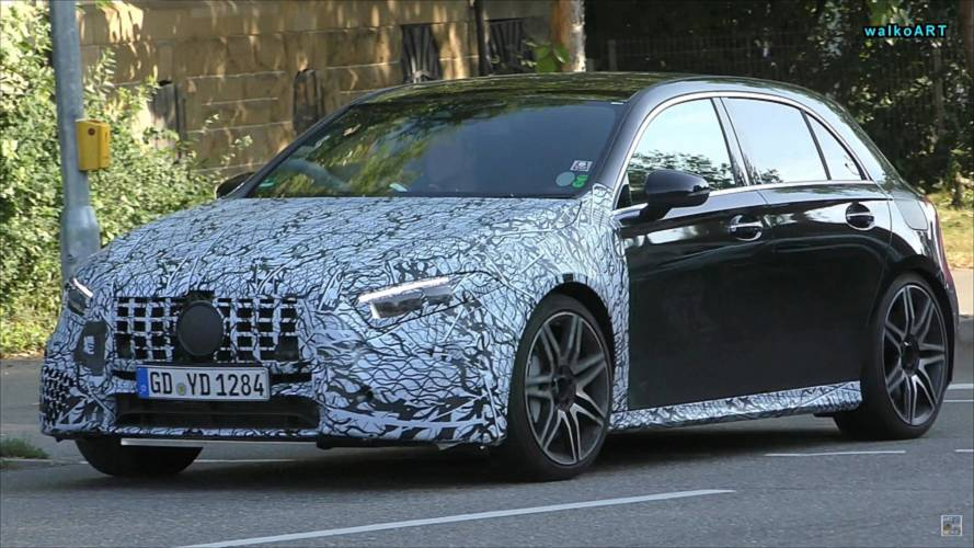 New Right-Hand-Drive Mercedes-AMG A45 Spotted Briefly In Traffic
