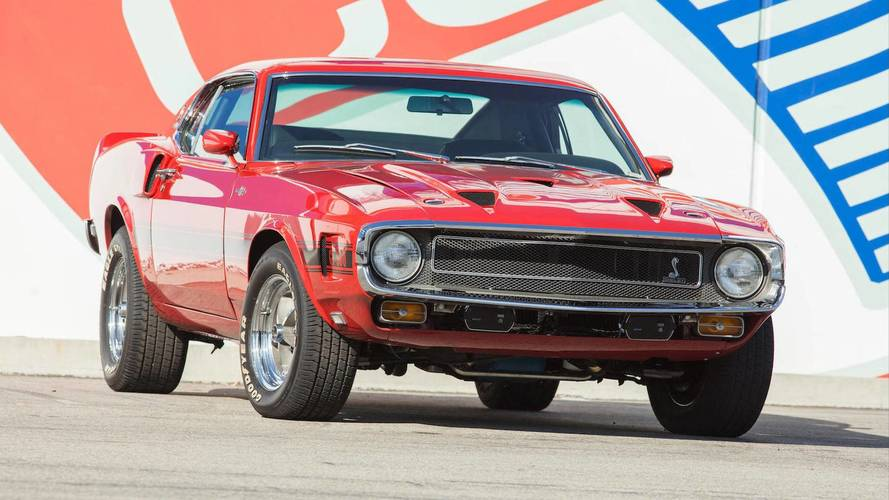 Carroll Shelby's Personal Car Collection Going Up For Auction