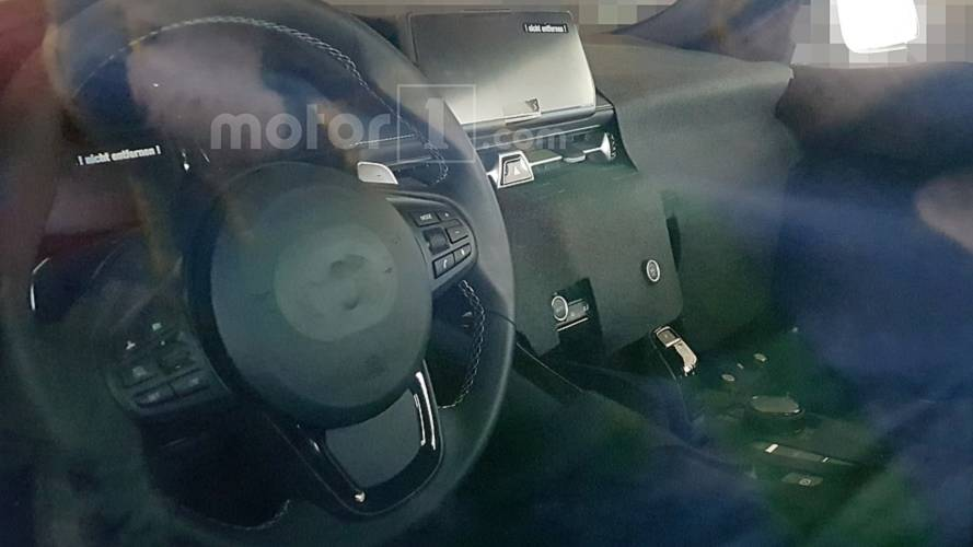 Toyota Supra Interior Spy Photos