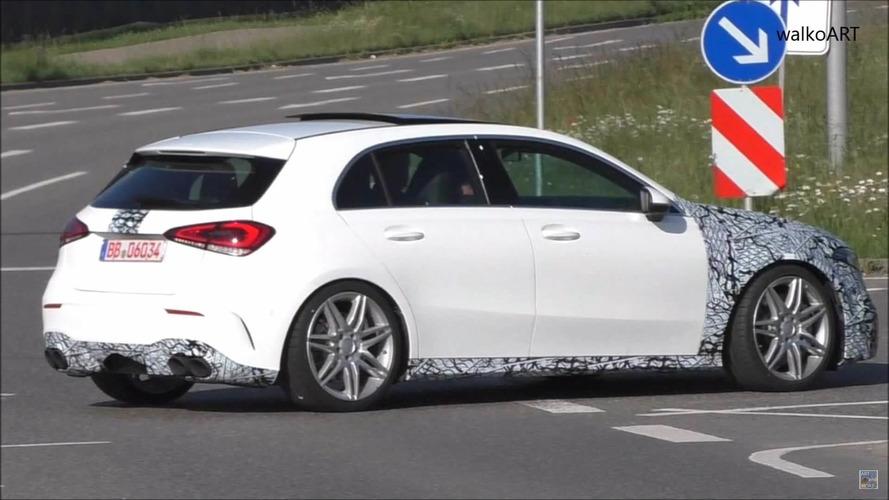 VIDÉO - La Mercedes-AMG A 45 poursuit son développement
