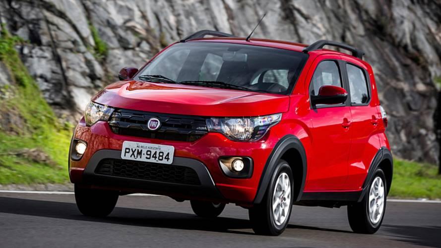 Fiat Mobi ganha série especial Way Extreme por R$ 43.490