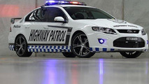 This 536 hp Ford Falcon GT RSPEC is Australia's most powerful police car