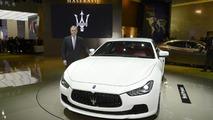 2014 Maserati Ghibli at 2013 Auto Shanghai