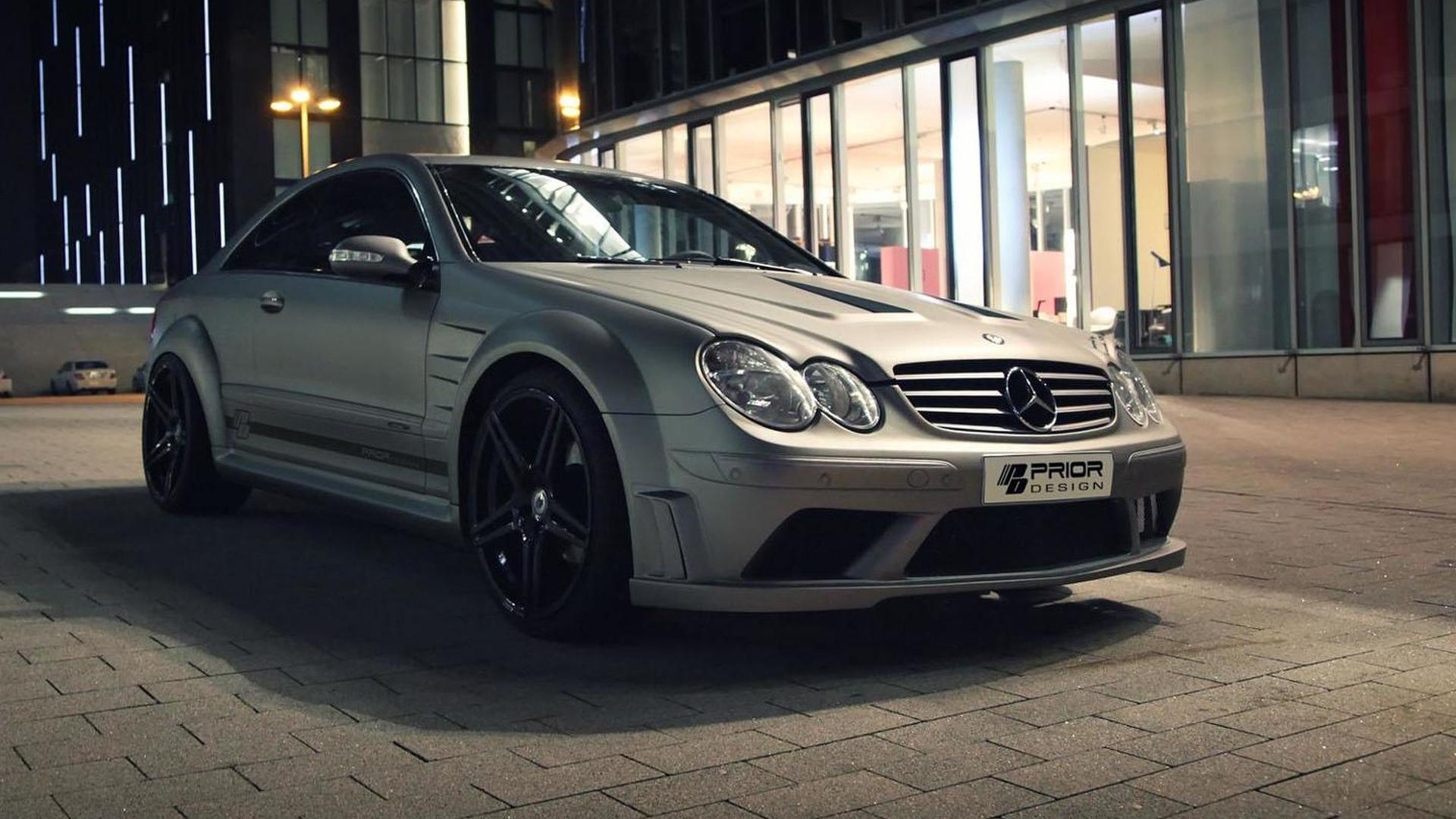 Prior design introduces a clk black series inspired body kit for Mercedes benz clk black series body kit