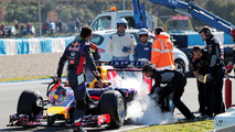 Grey clouds at Jerez as Red Bull ends first test