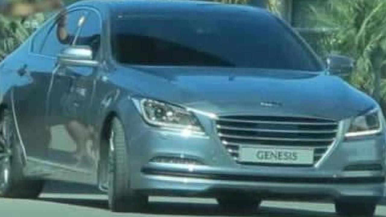 2014 Hyundai Genesis spy photo 17.10.2013