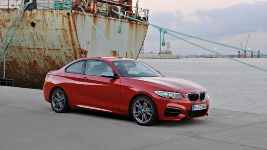 BMW M235i Coupe official images leaked