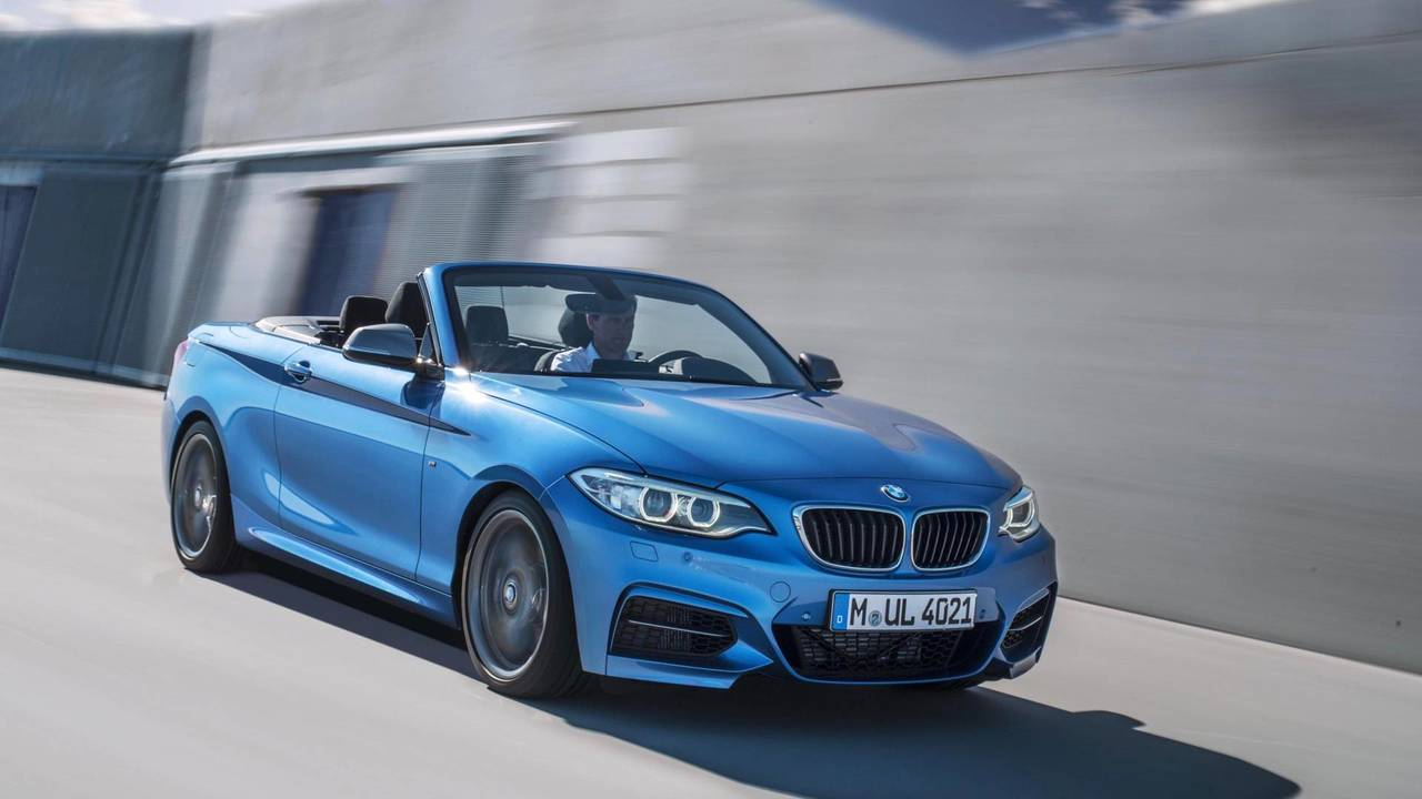 BMW 2 Series Convertible - £28k