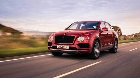 Bentley adds a V8 to the Bentayga range