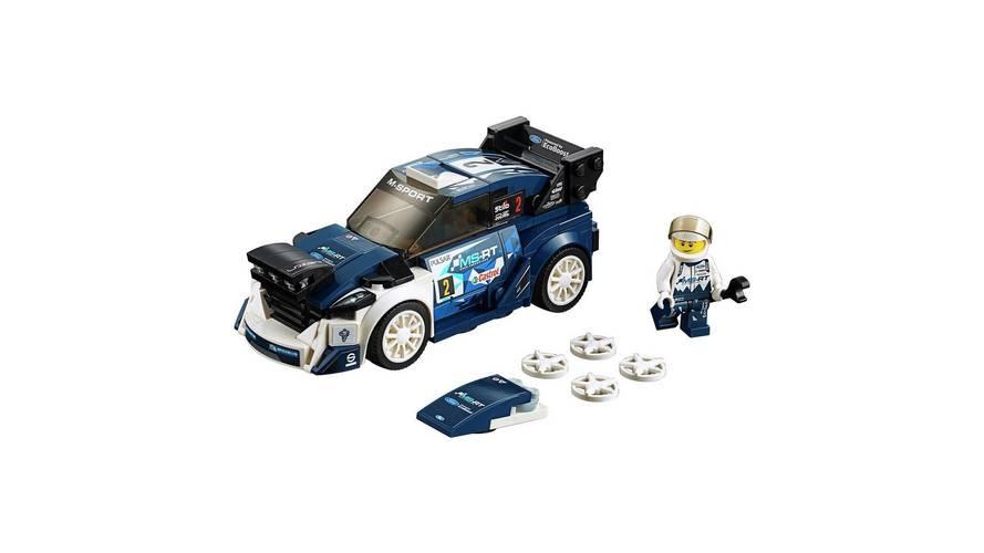 El Ford Fiesta WRC se une a la colección Lego Speed Champions 2018