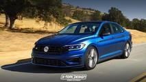 2019 VW Jetta GLI / R Rendering