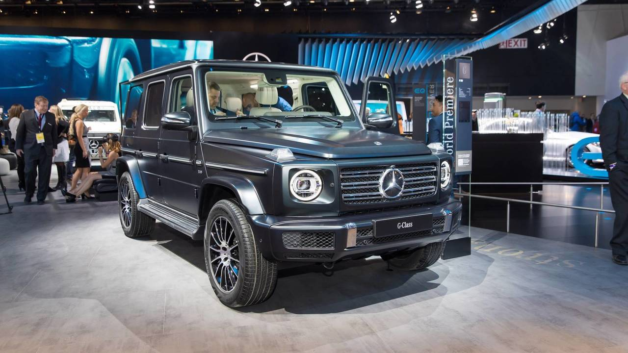 2019 mercedes benz g class just as rugged much more refined for Mercedes benz g500