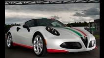 Alfa Romeo veste 4C com a bandeira italiana no Campeonato Mundial de Superbike