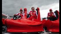 Parque da Ferrari em Dubai abre parcialmente dia 27 de outubro