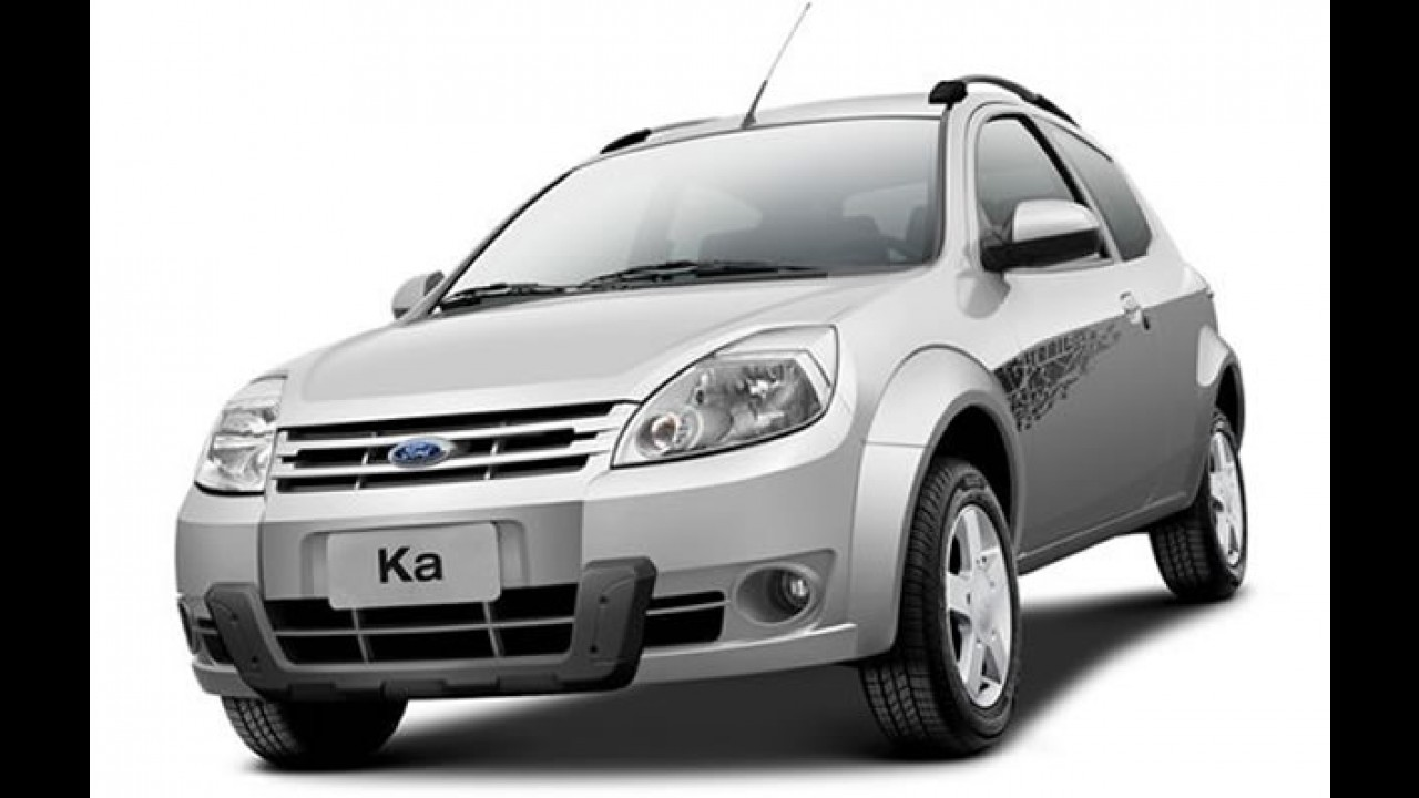 Só visual: Ford KA ganha novo kit opcional Trail