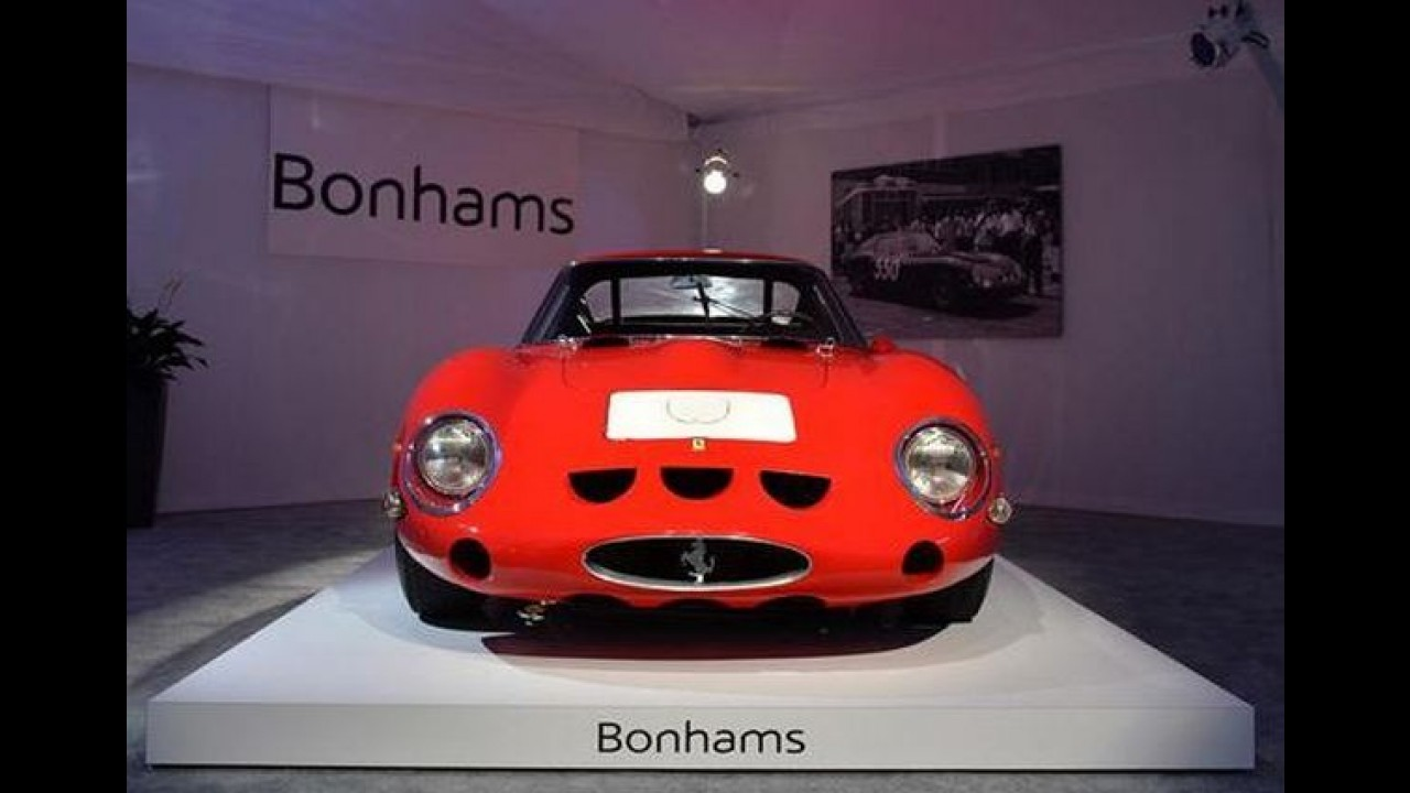 Carro mais caro do mundo: Ferrari 250 GTO é leiloada por R$ 86,6 milhões