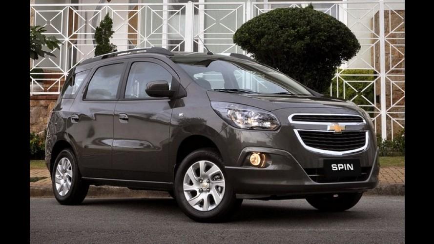 Chevrolet Spin é lançada na Tailândia por R$ 51.560