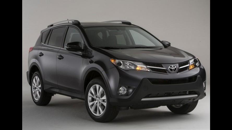 Toyota confirma motores e preços para o novo RAV4 2013 na Europa