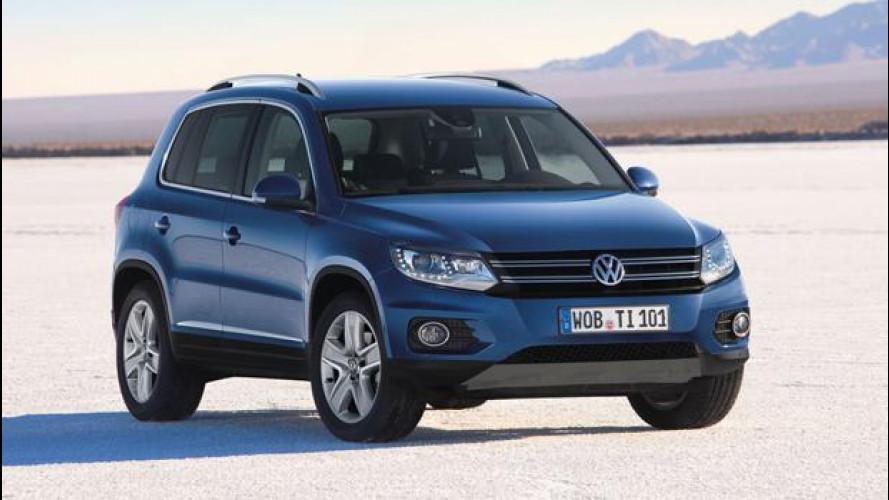 Volkswagen Tiguan, più potente e connessa