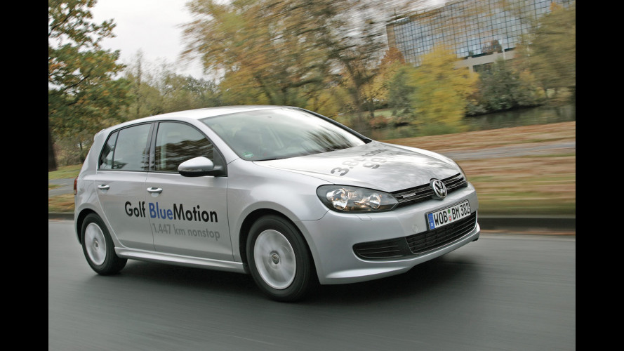 Nuova Volkswagen Golf BlueMotion