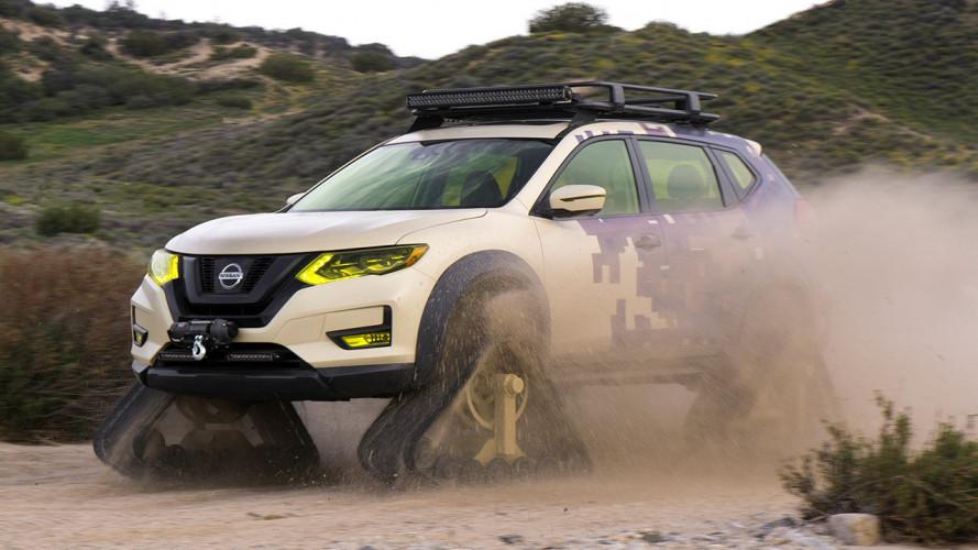 Nissan X-Trail, cingolata per il deserto [VIDEO]