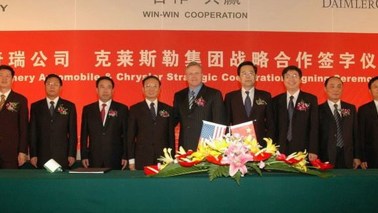 Chrysler and Chery Cooperation Confirmed