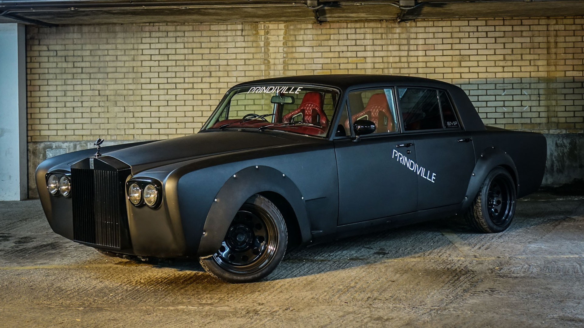 Evil Rolls Royce Silver Shadow Drift Car Selling For