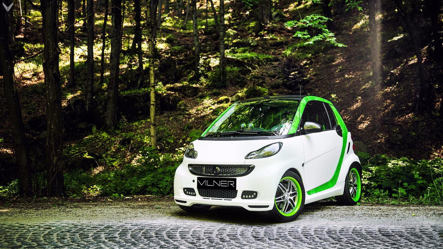 Smart ForTwo Brabus By Vilner Transformed From Dull To Damn Crazy
