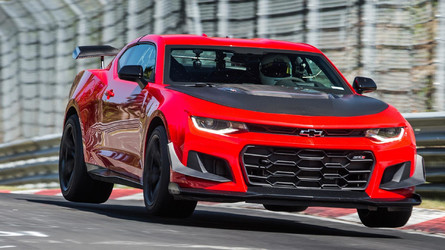 See The Chevy Camaro ZL1 1LE Lap The 'Ring In 7:16